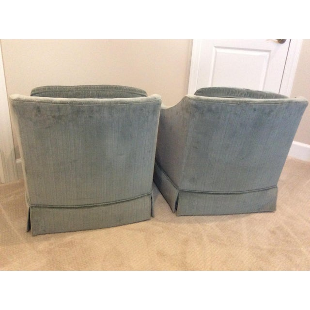 1970s Vintage Drexel Heritage Armchairs - a Pair For Sale - Image 11 of 13