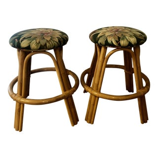 Mid Century Modern Bentwood Barstools- a Pair For Sale