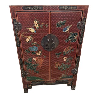 1940s Chinese Wooden Storage Cabinet For Sale