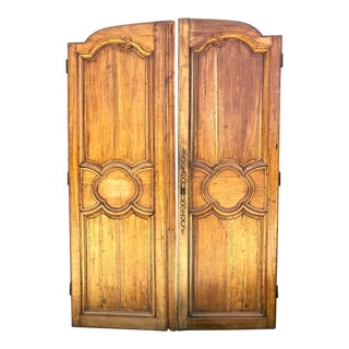 Large 18th Century French Doors - a Pair For Sale