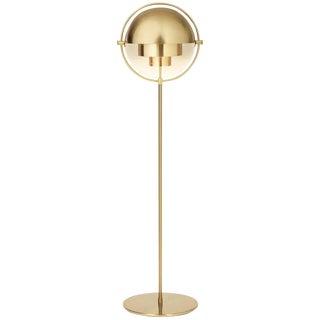 Louis Weisdorf 'Multi-Lite' Floor Lamp in Brass