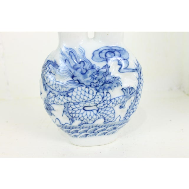 Double Head Porcelain Bottle For Sale - Image 5 of 9