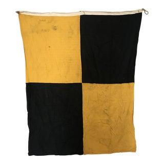 """Vintage Nautical Flag """"L"""" For Sale"""