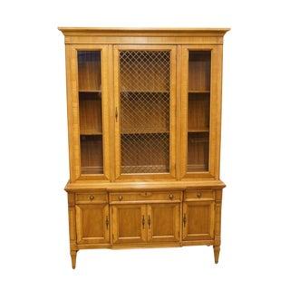 """Thomasville Furniture Villa Romano Collection 51"""" China Cabinet For Sale"""