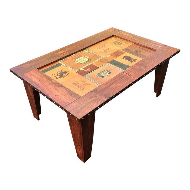 Cigar Box Coffee Table - Image 1 of 11