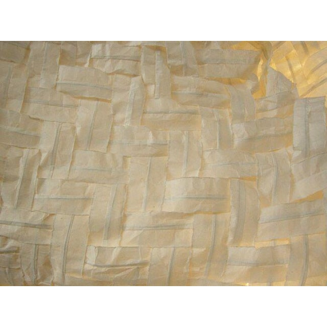 Gigantic Freeform Handwoven Paper Ceiling Light - Image 6 of 7