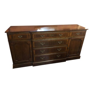 Baker Traditional Mahogany Sideboard For Sale
