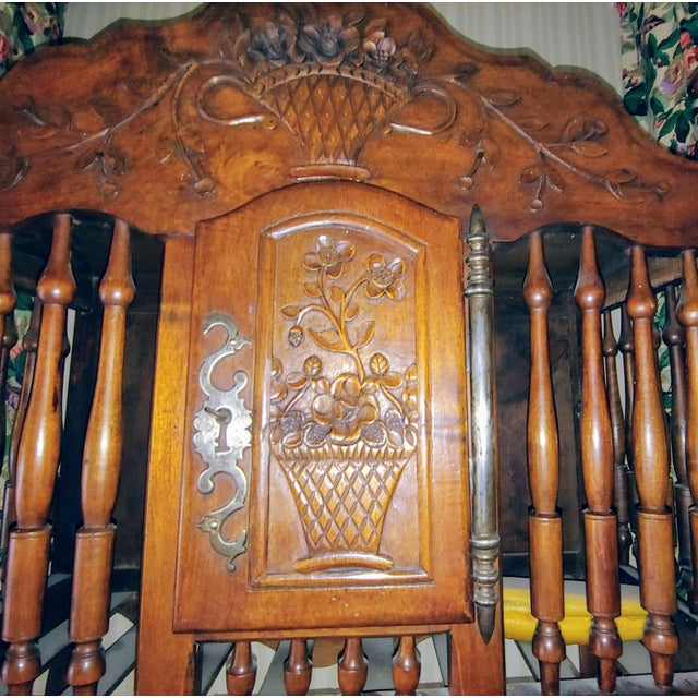 Antique French Walnut Panatier For Sale In Pittsburgh - Image 6 of 7