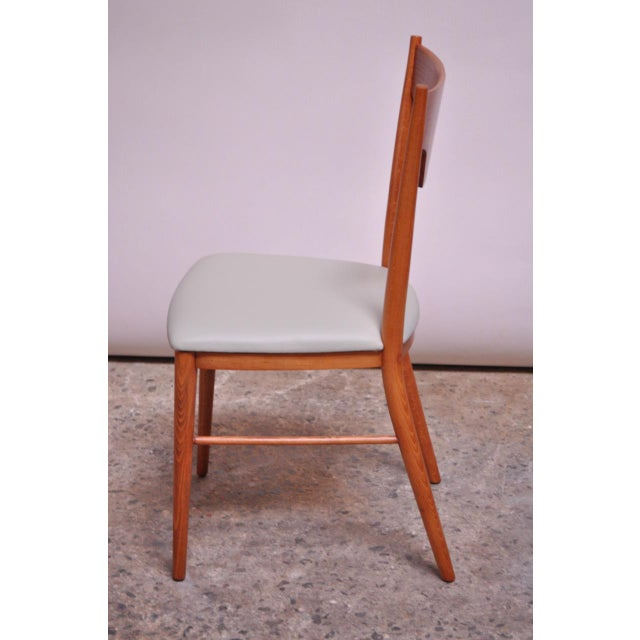 Wood Stained Maple Dining Chairs by Paul McCobb for Perimeter - Set of 8 For Sale - Image 7 of 13
