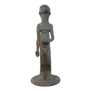 Mid-Century Modern Sculpture in the Manner of Amedeo Modigliani For Sale