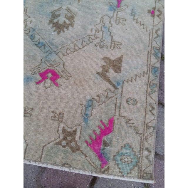 Boho Chic Anatolian Oushak Rug For Sale - Image 3 of 5