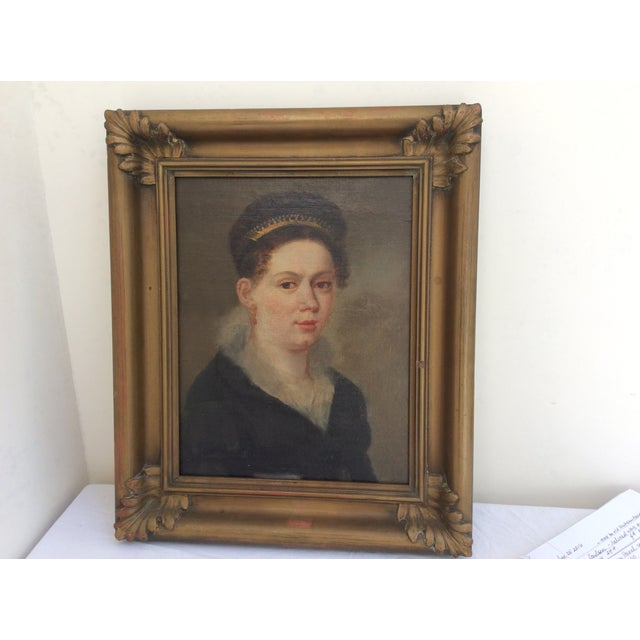 Portrait of a Lady Wearing a Tiara - Image 2 of 9