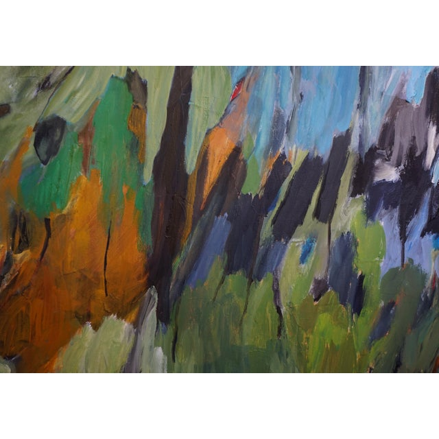 Laurie MacMillan Laurie MacMillan Original Abstract Landscape Painting For Sale - Image 4 of 7