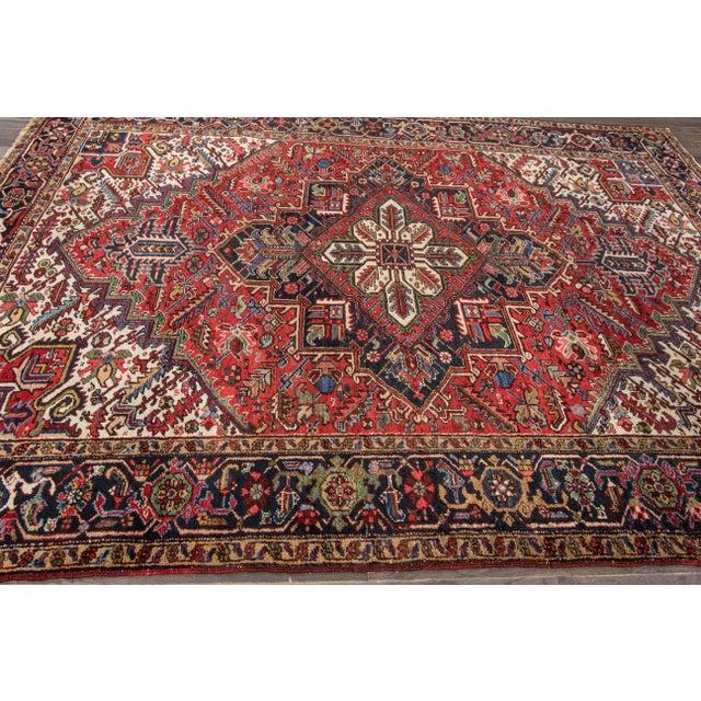 """Apadana - Vintage Persian Heriz Rug, 7'9"""" x 10'9"""" - Image 2 of 7"""