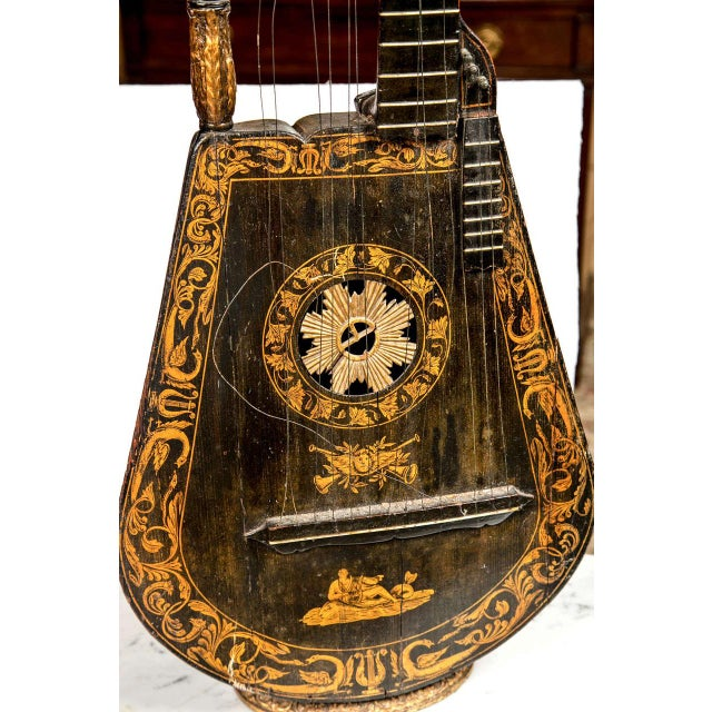 19th Century Edward Light Harp Lute - Image 4 of 7