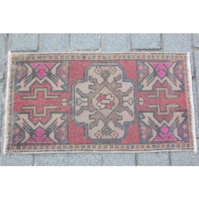 "Tribal Village Carpet - 3' x 1'8"" - Image 10 of 10"
