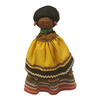 Vintage Seminole Indian Straw Doll