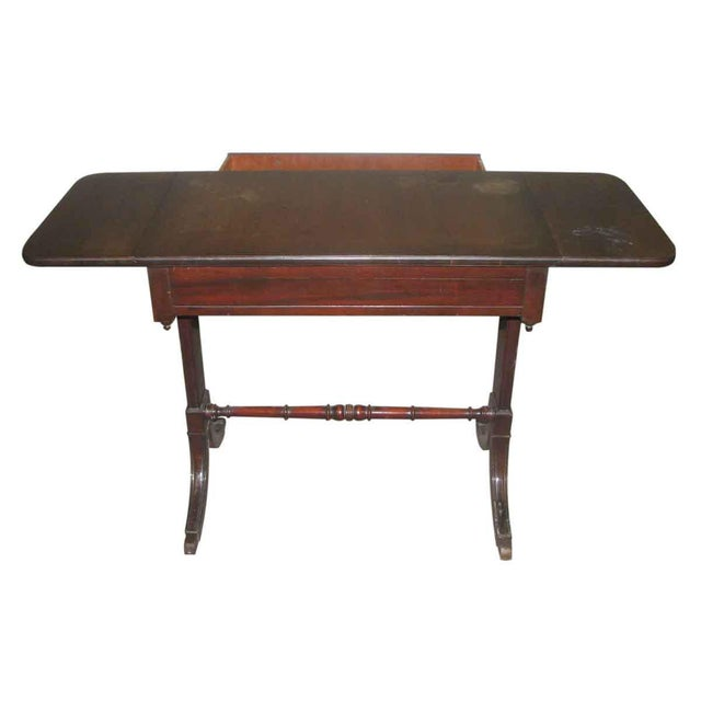 Duncan Phyfe Duncan Phyfe Occasional Drop-Leaf Table For Sale - Image 4 of 10
