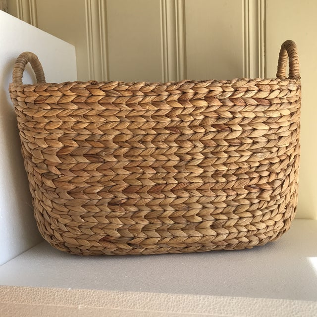 Boho Seagrass Rope Basket - Image 7 of 8