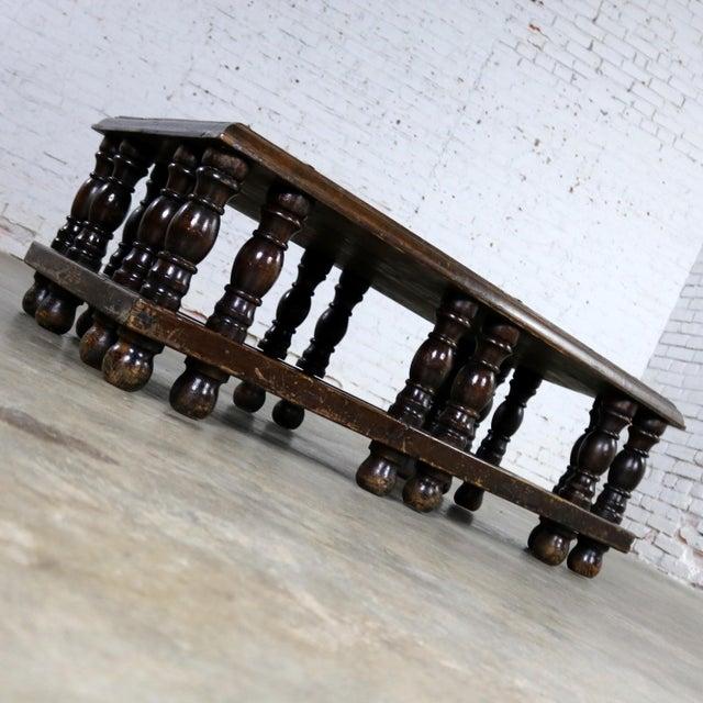 Spanish Revival Style Rectangular Coffee Table Artes De Mexico Internacionales Attribution For Sale - Image 4 of 13
