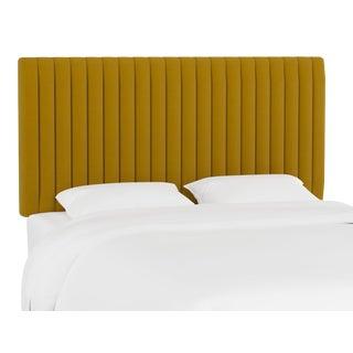 Queen Headboard, Monaco Citronella For Sale