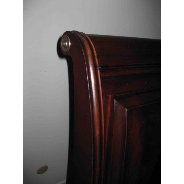Ethan Allen King Sleigh Bed For Sale In Boston - Image 6 of 11