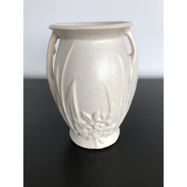 American Arts & Crafts White Ware Vase - Image 3 of 6