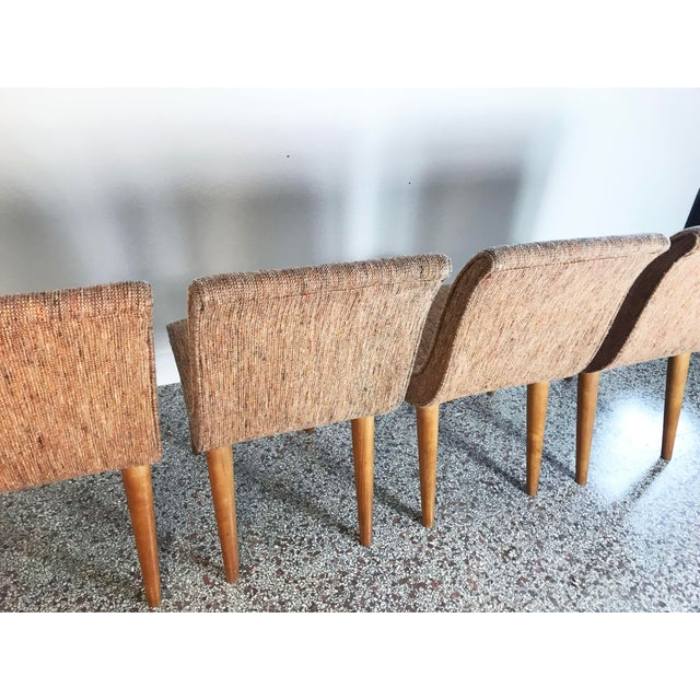 Wood Russel Wright Scoop Dining Chairs - Set of 4 For Sale - Image 7 of 13