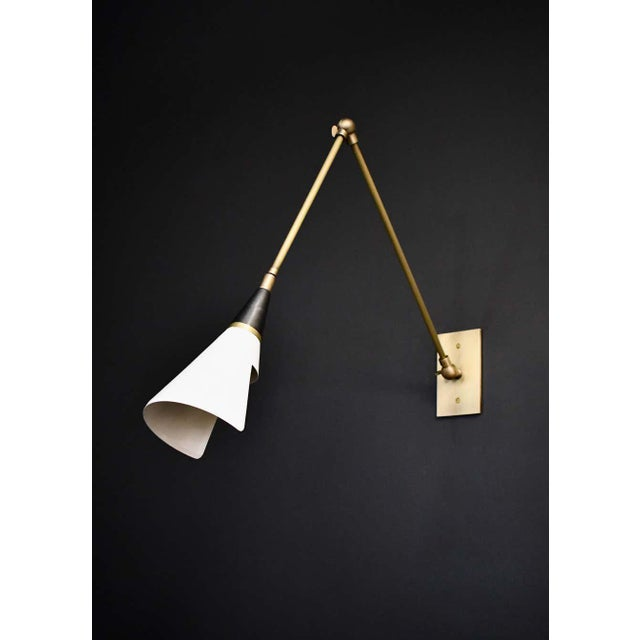 The Magari wall lamp or reading light is handmade to order by Blueprint Lighting. Magari is adjustable to suit your needs:...