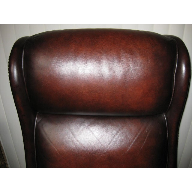 Hooker Leather Office Chair - Image 10 of 10