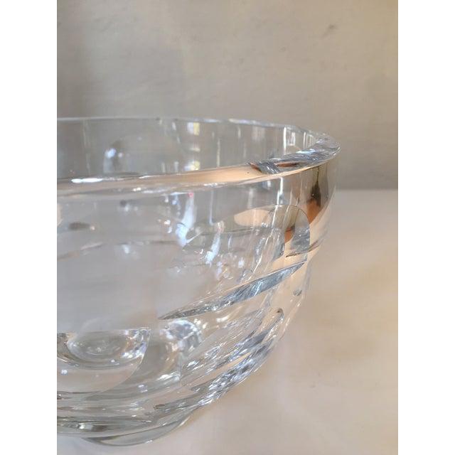 Glass Mona Morales Schildt for Orrefors Vase For Sale - Image 7 of 11