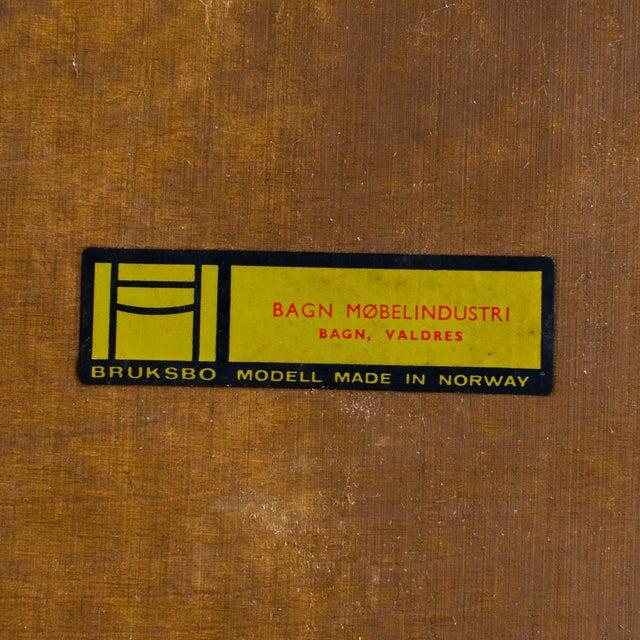 Bruksbo Rolf Hesland for Bruksbo Rosewood Magazine or LP Rack For Sale - Image 4 of 5