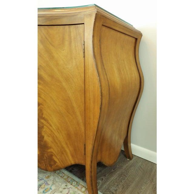 Wood Vintage Bombay Burl Wood Chest/Cabinet For Sale - Image 7 of 8