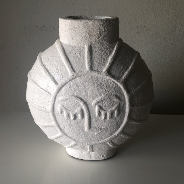 Vintage Danish Mid Century Face Vase For Sale - Image 9 of 9