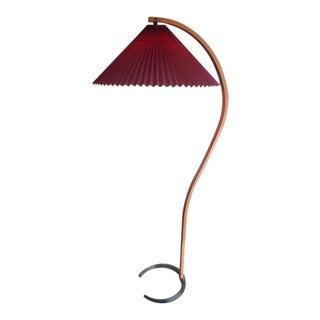 Danish Modern Vintage 1970s Caprani Bentwood Floor Lamp For Sale