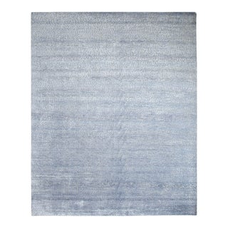 """Contemporary Hand-Knotted Area Rug 7' 11"""" x 9' 11"""" For Sale"""