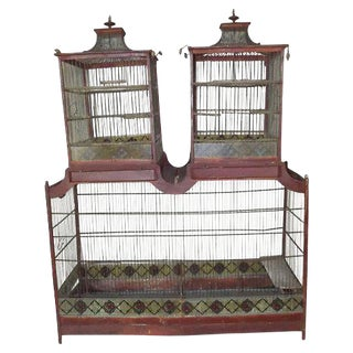 Mid 19th Century Napoleon III Birdcage For Sale