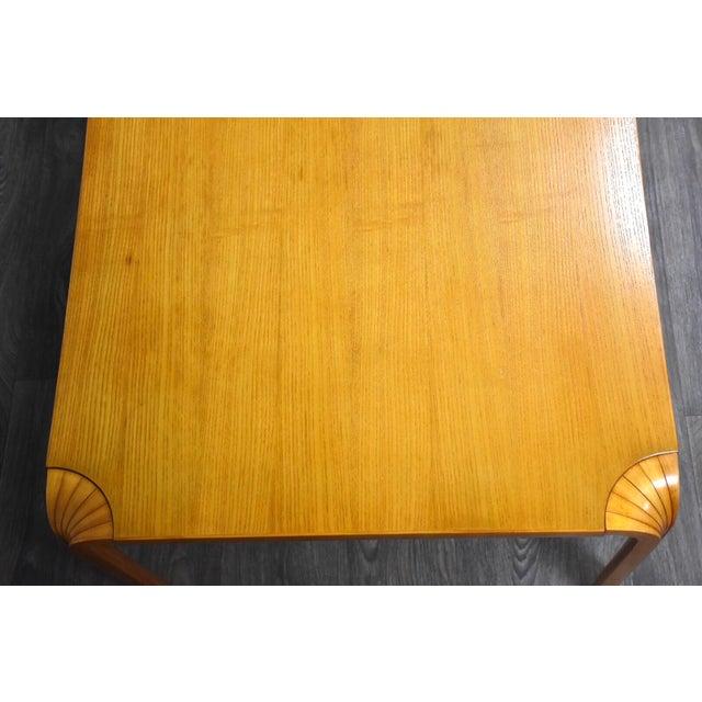 Artek Alvar Aalto Scalloped Coffee Table for Artek For Sale - Image 4 of 11