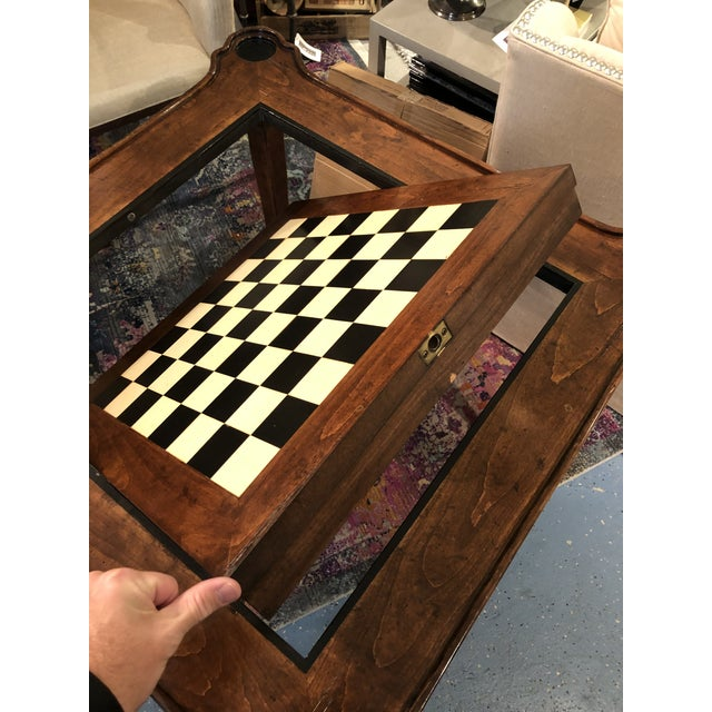 Traditional Traditional Sterling Collection French Game Table For Sale - Image 3 of 11