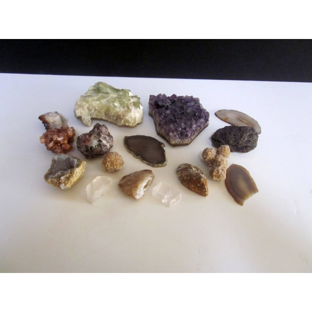 Geode Agate Stones Collection - Set of 16 - Image 2 of 5