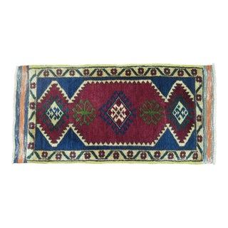 Vintage Turkish Anatolian - 1'6'' X 2'11'' For Sale