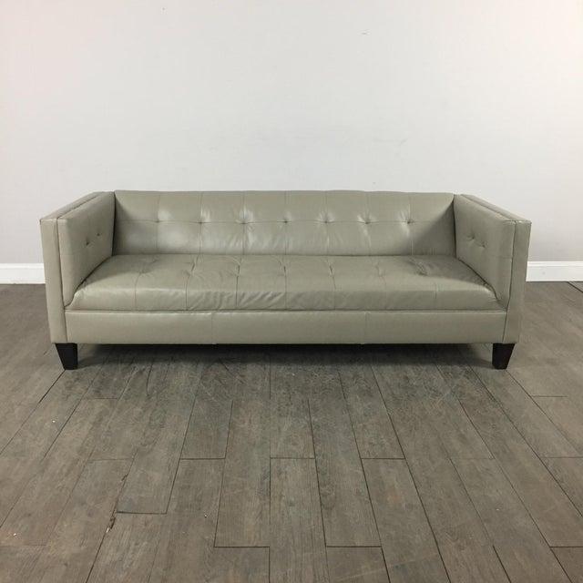 Z Gallerie Modern Tufted Sofa - Image 2 of 11