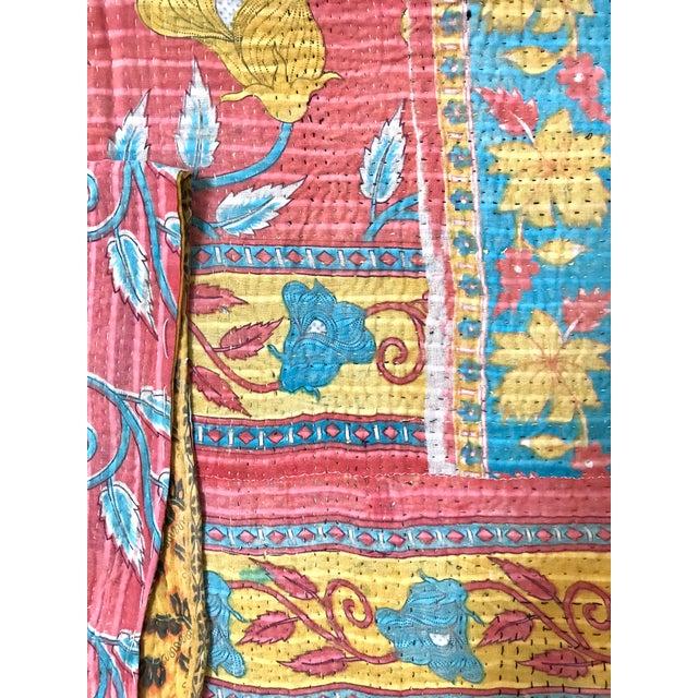 Vintage Hantha Throw Blanket For Sale - Image 4 of 5
