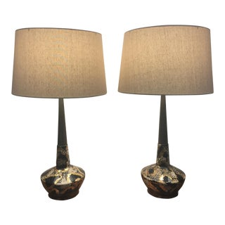 Royal DI Monte Ceramic Lamps - A Pair