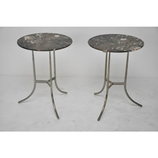Gray Cedric Hartman Side Tables For Sale - Image 8 of 10