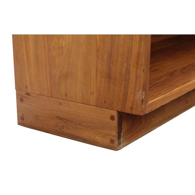 Solid Walnut Studio Bookshelf - Image 5 of 10