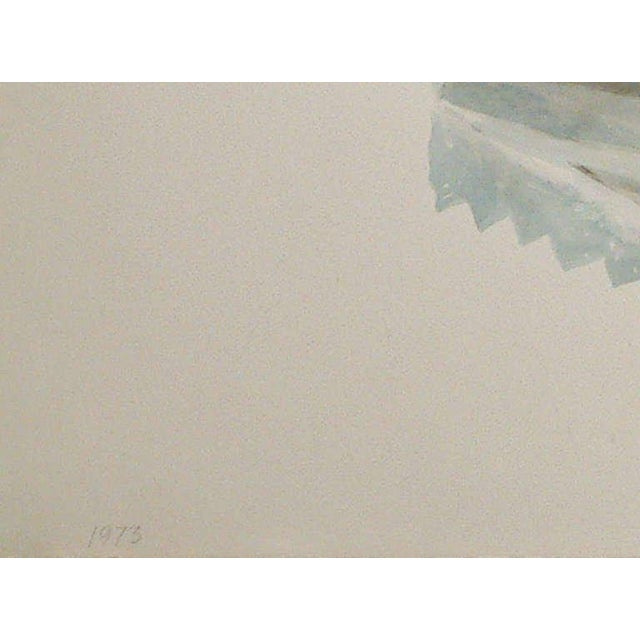"Don Nice ""Spearmint Gum"" Watercolor on Arches Paper 1973 - Image 3 of 6"