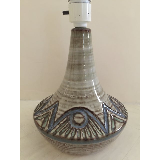 Boho Chic Mid-Century Danish Table Lamp For Sale - Image 3 of 6
