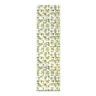 Fresh Basil Peel & Stick Fabric Wallpaper - 2'w X 10.5'l For Sale