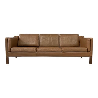 Børge Mogensen Model 2213 Three-Seat Sofa For Sale